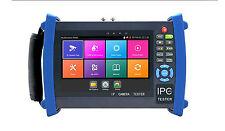 "7"" H.265 4k IP HD CCTV Tester Monitor AHD CVI TVI 5MP Tester IPC-8600ADH plus"