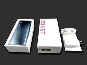 LG VELVET 5G ⭐ ATT GSM Unlocked ⭐ 128GB T-Mobile AT&T Silver / Black w/ OG BOX