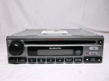 03-06 SUBARU FORESTER  X/ RADIO/AUDIO SYSTEM/AM-FM- CD//WEATHER BAND RECEIVER
