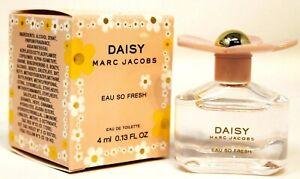 Marc Jacobs Daisy Eau So Fresh Eau de Toilette Mini Splash bottle 4ml/0.13oz NEW