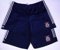 LOT of 2 NOTRE DAME FIGHTING IRISH TEAM ISSUED ADIDAS FOOTBALL PRACTICE SHORTS