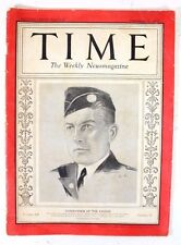 Vintage Time Weekly Magazine Commander of the Legion September 12, 1932
