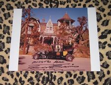 Rare GEORGE BARRIS signed 11x14 photo autograph Munsters KOACH House Custom Car