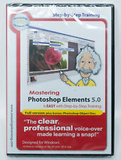 Mastering Adobe Photoshop Elements 5.0 Full Version learning tutorial PC CD-ROM