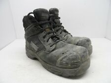 "DAKOTA Men's 6"" 6410 Composite Toe Composite Plate Injected Work Boot Black 9M"
