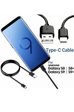 Genuine Samsung Galaxy S8 / S9 Plus Type C USB-C Sync Charger Charging Cable