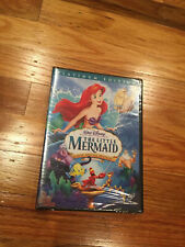 THE LITTLE MERMAID DISNEY SPECIAL EDITION DVD NEW SEALED