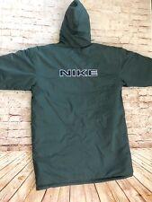 4bea090b2f Vintage Nike Men s Puffer Parka Jacket Logo sz XXL Full zip Green Nylon  Hooded