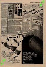 Dr. Feelgood On The Job Rock On The Tyne Gateshead Advert NME Cutting 1981