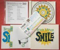 Brian Wilson Smile JAPAN CD W/OBI SLIPCASE & BOOKLET 2 Bonus Track WPCR-11916