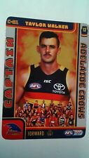 2018 team coach Adelaide crows Taylor walker captain card c-01