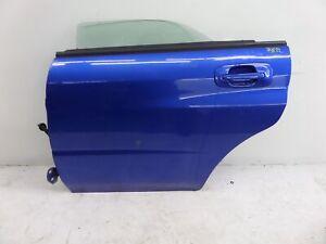 Subaru Impreza STI Left Rear Sedan Door Blue GD 01-07 OEM WRX