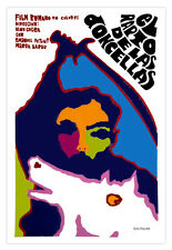 """Cuban movie Poster for film""""KIDNAPPING of Girls""""Horse art.Rapto de las Doncellas"""