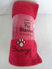Couchage, paniers et corbeilles lavable en machine rouges en polyester pour chien