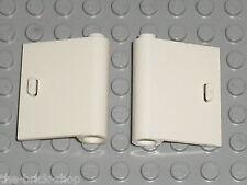 Portes LEGO White doors ref 60657 & 60658 / set 7288 7888 7785 7743 9314 ...