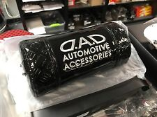 100% Authentic GARSON DAD Car Neck Pads BLACK GLOSS Stitch Head Rests JDM