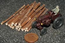 Ladegut Holz, Stämme Naturholz ca. 60 mm lang Ø 1,00 - 4,00 mm, 20 Stück
