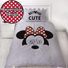 Disney Minnie Mouse Cute Single Duvet Cover Set Reversible Kids Bedding Girls