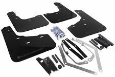 Rally Armor UR Black Mud Flap w/ Grey Logo For 2014+ Ford Fiesta ST Hatchback