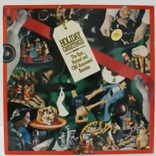 VARIOUS - HOLIDAY GREETINGS - NON MUSIC VINYL LP PROMO
