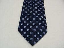 Tommy Hilfiger - à Motifs Géométriques - 100% Cravate Soie