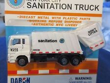 DSNY NYC New York City Sanitation Garbage Truck Bk.8 Brooklyn 1:64 S scale
