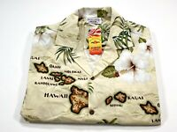 Pacific Legend M Men's Hawaiian Short Sleeve Shirt Hawaii Kauai Oahu NEW NWT