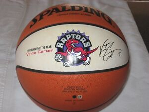 1999 Vince Carter Spalding ROOKIE OF THE YEAR NBA LE to 5000 Basketball RARE