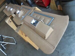 1986 Chevrolet Caprice 4 Door All 4 Door Panels with Armrests and Switches 80-89