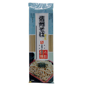 250 g Kubota Nudeln mit Buchweizen Shinshu Soba Buckwheat Noodles aus Japan