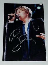 David Bowie 4x6 Autographed Photo