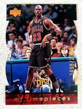 MICHAEL JORDAN  HOF   #'d TIMEPIECES insert card 1998-99 UPPER DECK MJx #83