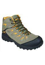 New Men P&W NY Hiking Boots Black/Beige/Grey Size 8.5