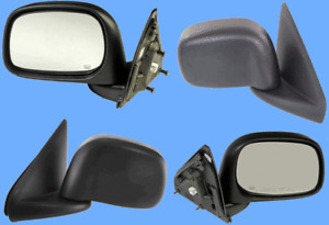 Set 2 Powered Side View Door Mirrors L/R For Dodge RAM 1500 2500 3500 4000 Heat