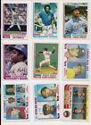 1982+Topps+Baseball+Partial+Set+596+Different+NRMT+