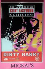 DIRTY HARRY - CLASSIC CLINT EASTWOOD COLLECTION CCECN01 DeAGOSTINI DVD PAL