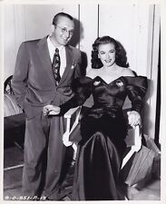 MARGUERITE CHAPMAN TOMMY DORSEY Vintage 1947 CANDID MR. DISTRICT ATTORNEY Photo