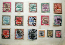 An album page Sudan stamps