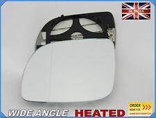 ALA SPECCHIO VETRO PER SEAT AROSA 1999-2004 asferico riscaldato sinistra #1019
