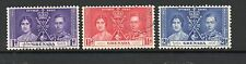 Grenada 1937 Coronation fine used set Stamps