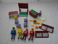 1974 PLAY BIG #5940 SCHOOL SCHULE ECOLE GERMANY figures LOT PLAYMOBIL