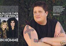 Coupure de presse Clipping 2011 Cher sa fille est devenue un Homme  (6 pages)