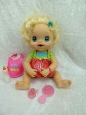 HASBRO 2010 poupée Intéractive  BABY ALIVE