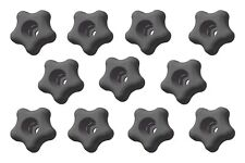 10 Pack 2 14 Snap Lock Star Knobs For Female Or Male Threads