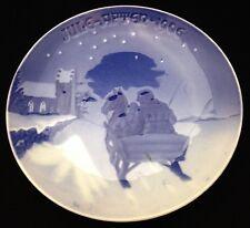 1906 Bing & Grondahl Christmas Plate - Sleighing to Church