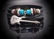 Guitar Bracelet- Unisex Genuine Leather