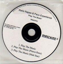 (CU652) Illario Napes & Paco Experience, Play The Music - DJ CD