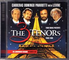 Carreras Domingo Pavarotti 3 tenori a Parigi 1998 James Levine CD three José