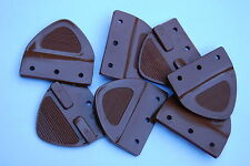 XY FORD FALCON GT GS Seatbelt Plastic Tongue SADDLE (1) with Rivets