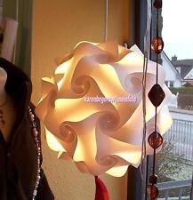 LAMPE PUZZLELAMPE Design Effektleuchte Gr.S incl.Kabel u.fertig montiert - NEU